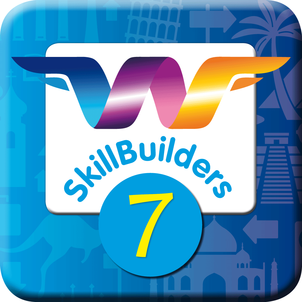 WordFlyers SkillBuilders App - Year 7
