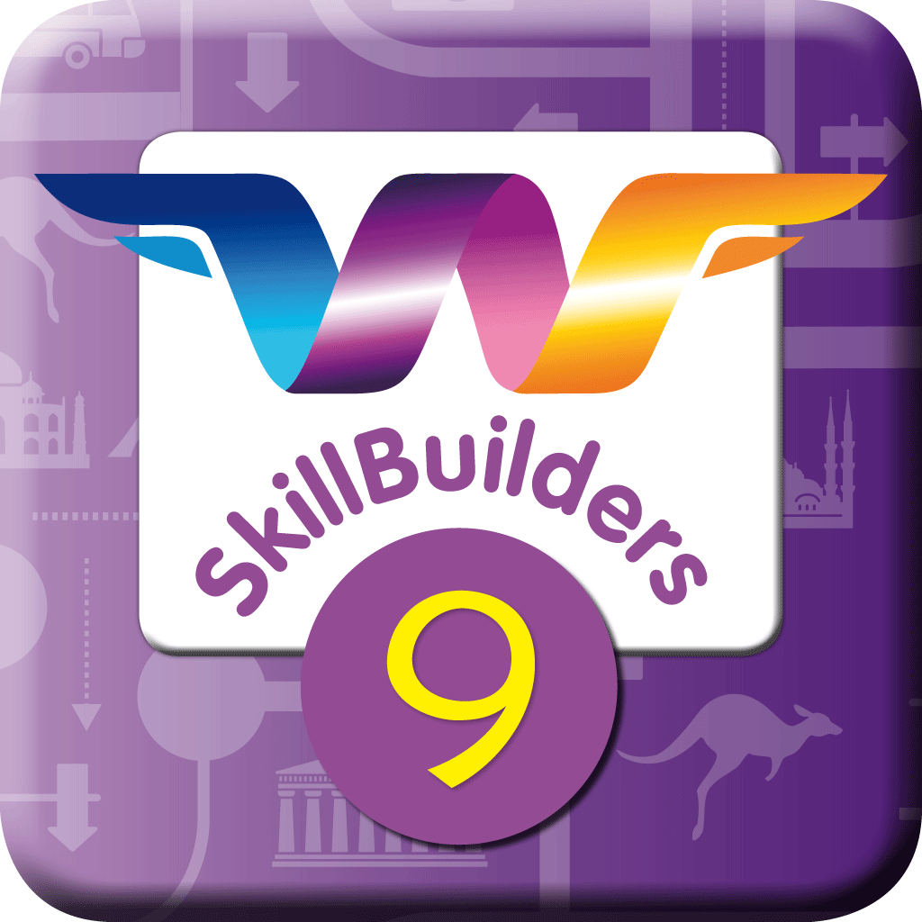 WordFlyers SkillBuilders App - Year 9